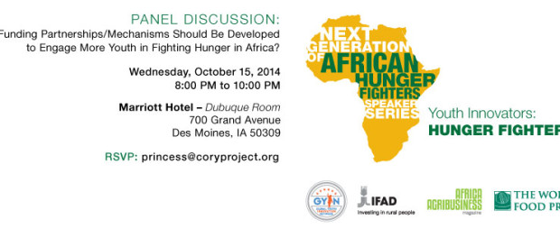 African Hunger Fighters Speaker Series